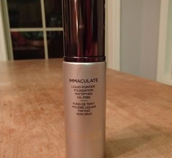 how to use hourglass immaculate foundation