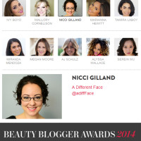 Allure Beauty Blogger Awards 2014