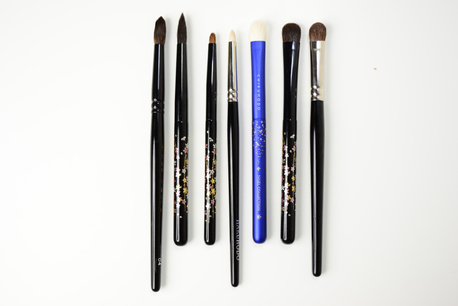 Chikuhodo Collection - Eye Brushes