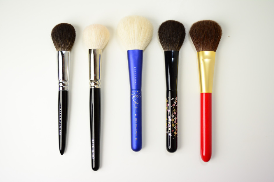 Chikuhodo Collection - Cheek Brushes