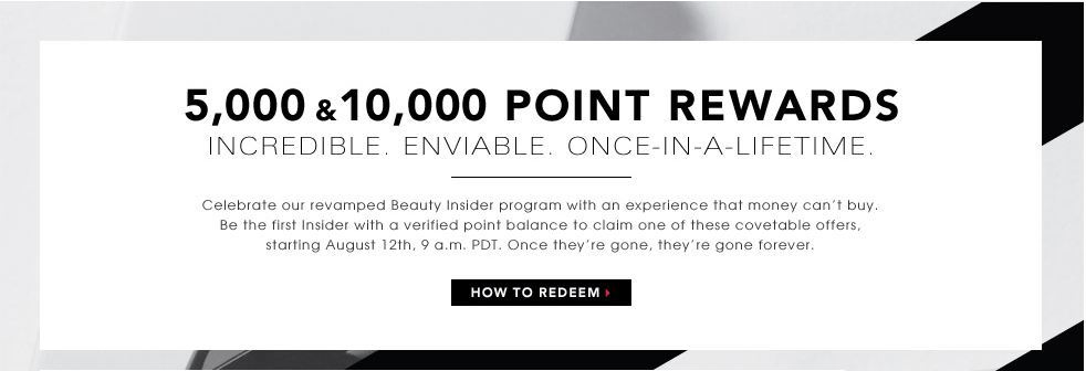 New Stuff: 5000 and 10000 Points Perks from Sephora