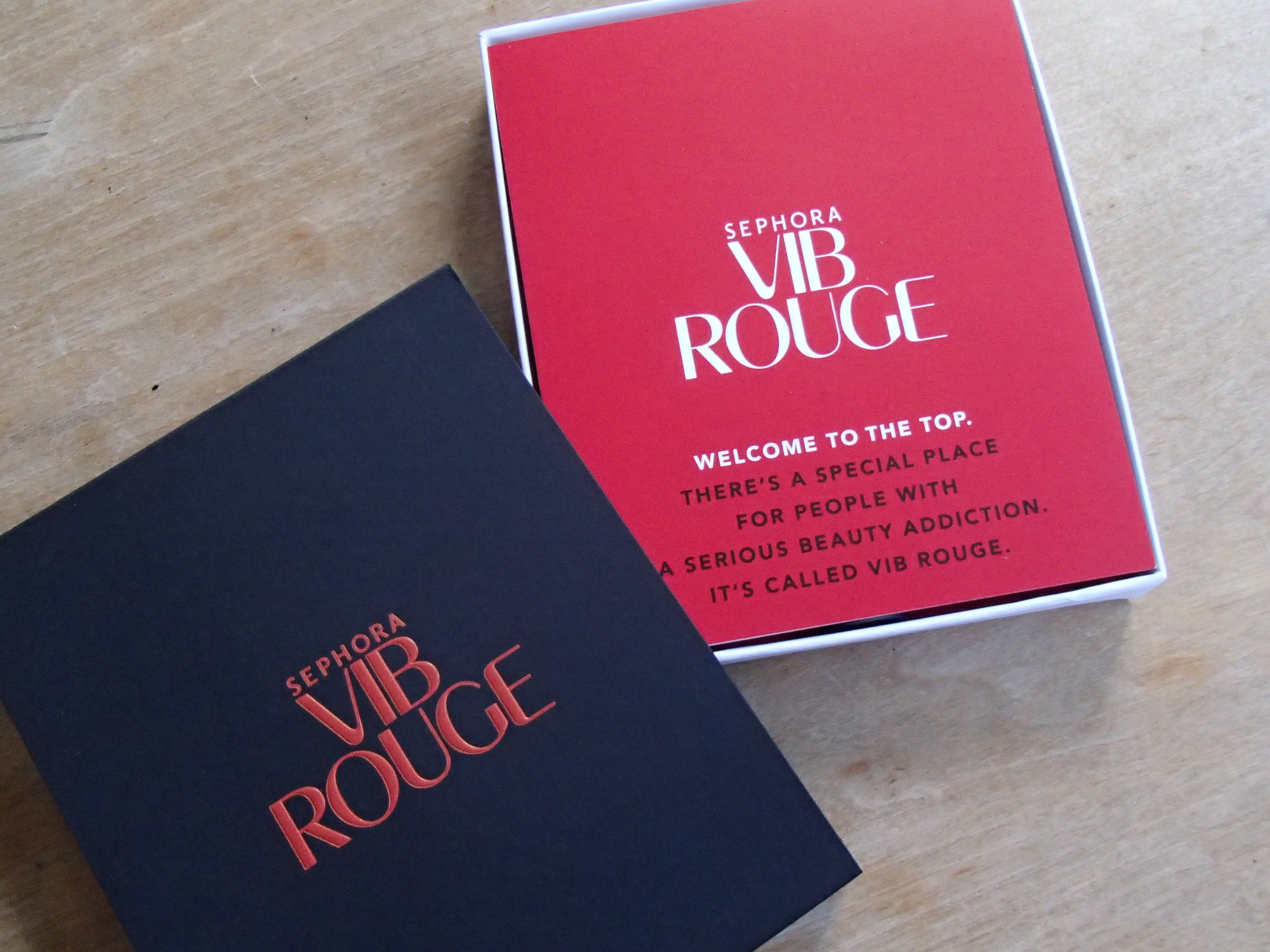 VIB Rouge Welcome Kit: What's in the Box? Plus a small haul