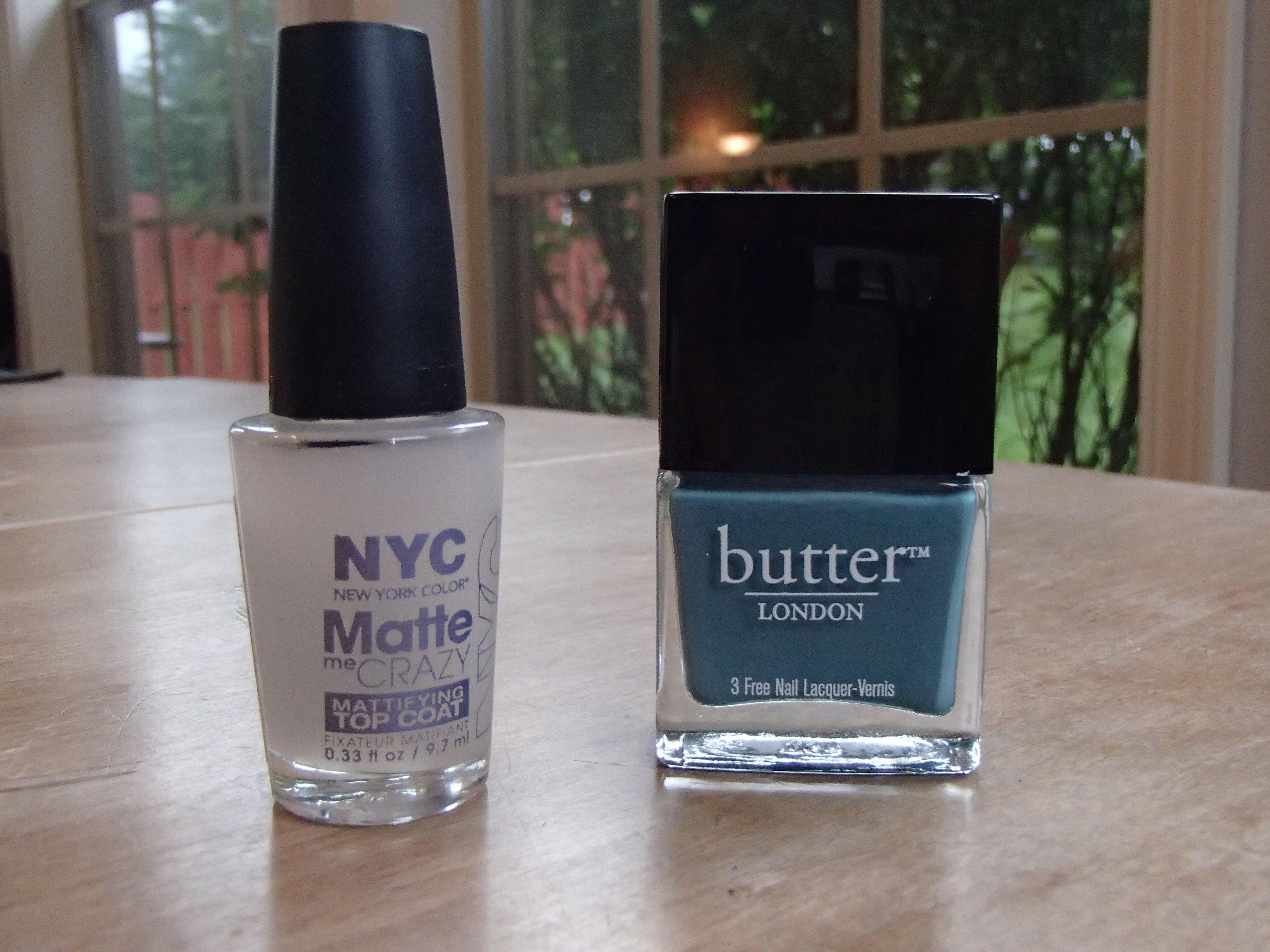 NYC Matte Topcoat & Butter London Artful Dodger | Lipstick Latitude