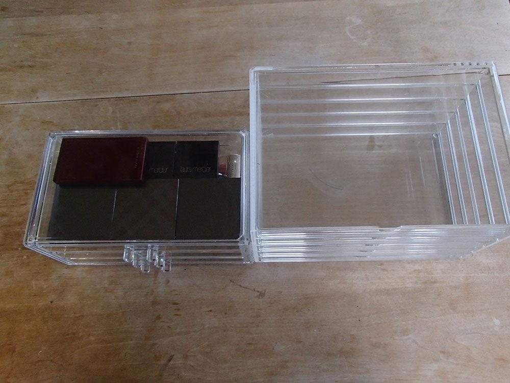 Acrylic Drawer Showdown – Amazon/eBay drawers vs Muji