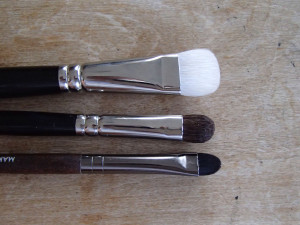 Eye Brushes: Flat