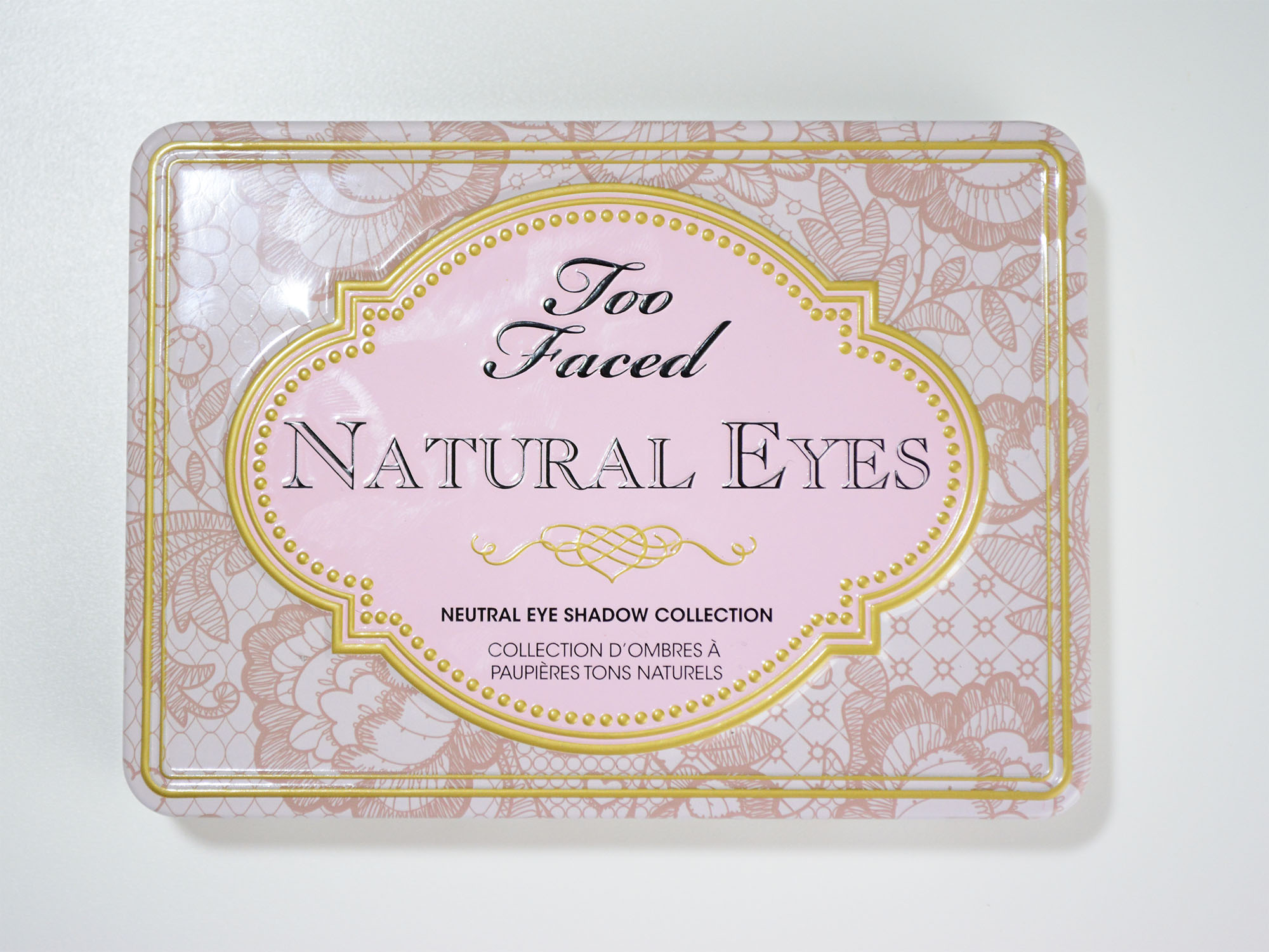 Two Faced Natural Eye Palette Review