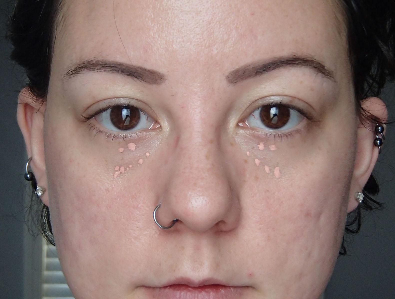 Undereye bag tutorial