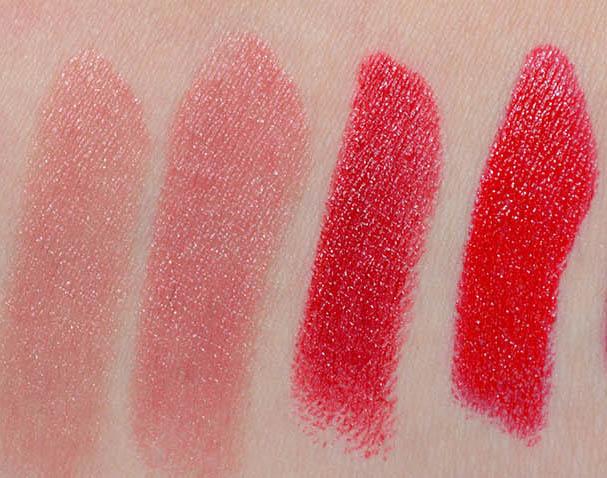 Bite Beauty Luminous Creme Lipstick Swatches Musk, Pepper, Tannin, Pomegranate