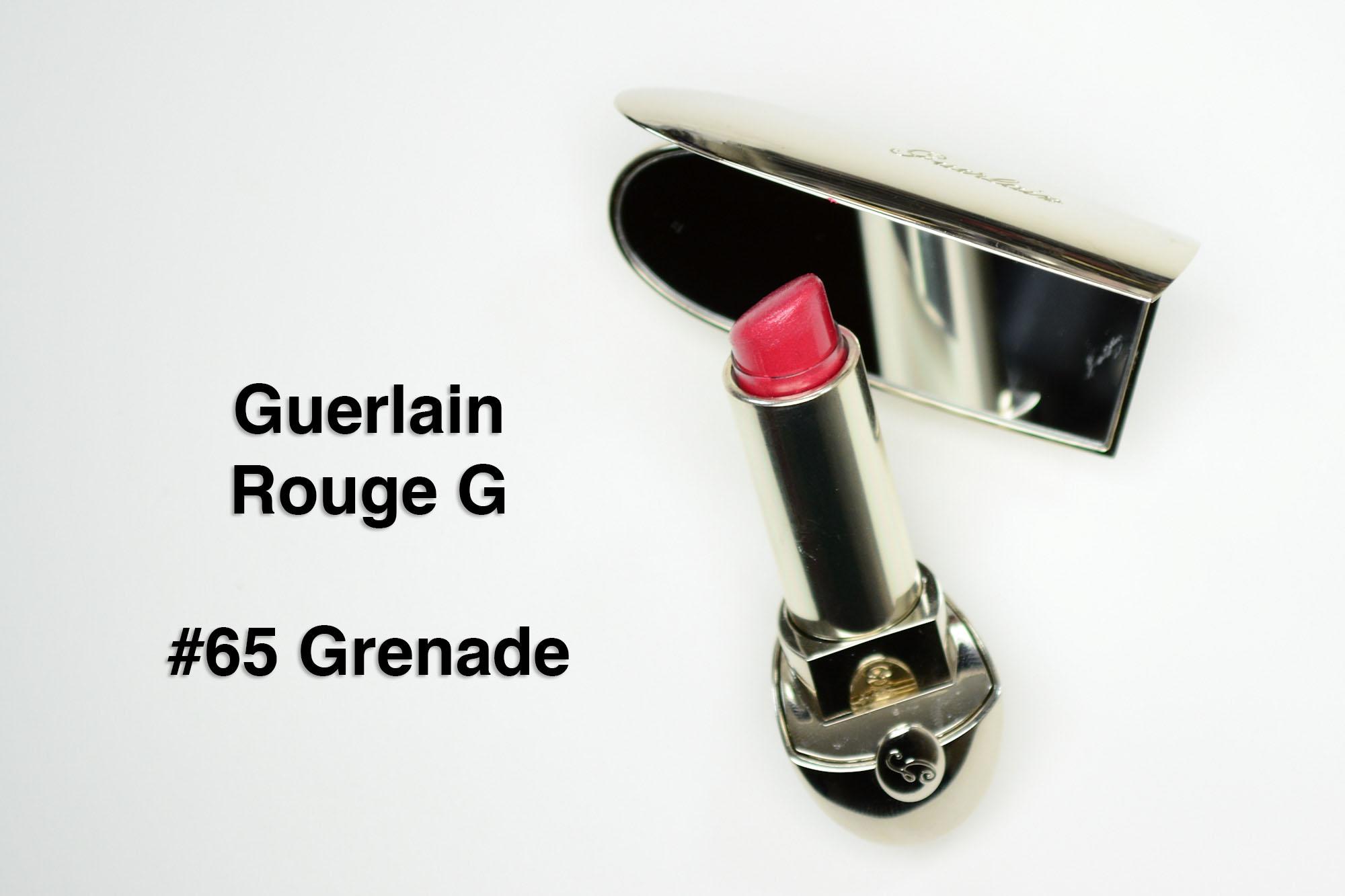 Review: Guerlain Rouge G in Grenade