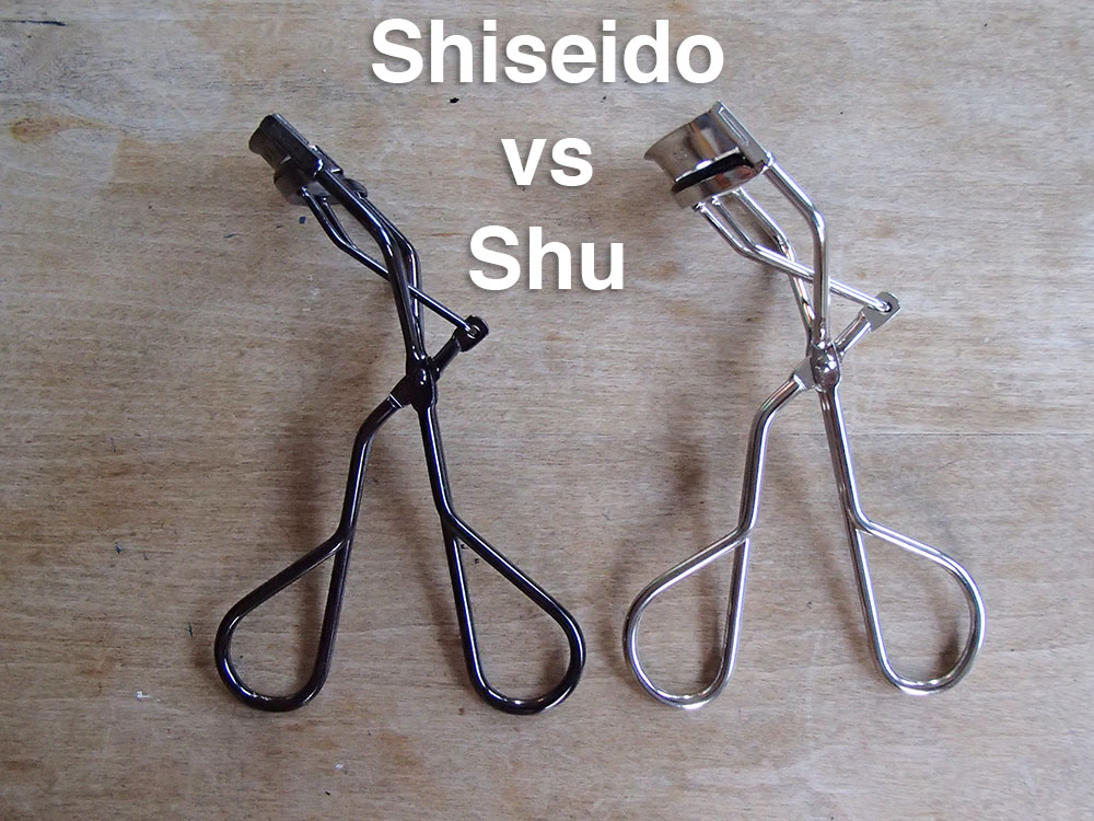 Review Comparison Shu Uemura Vs Shiseido Eyelash Curlers