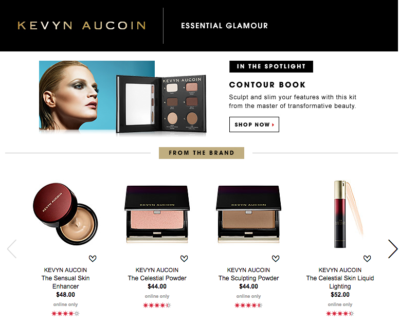 Sephora Brand Game - Kevyn Aucoin