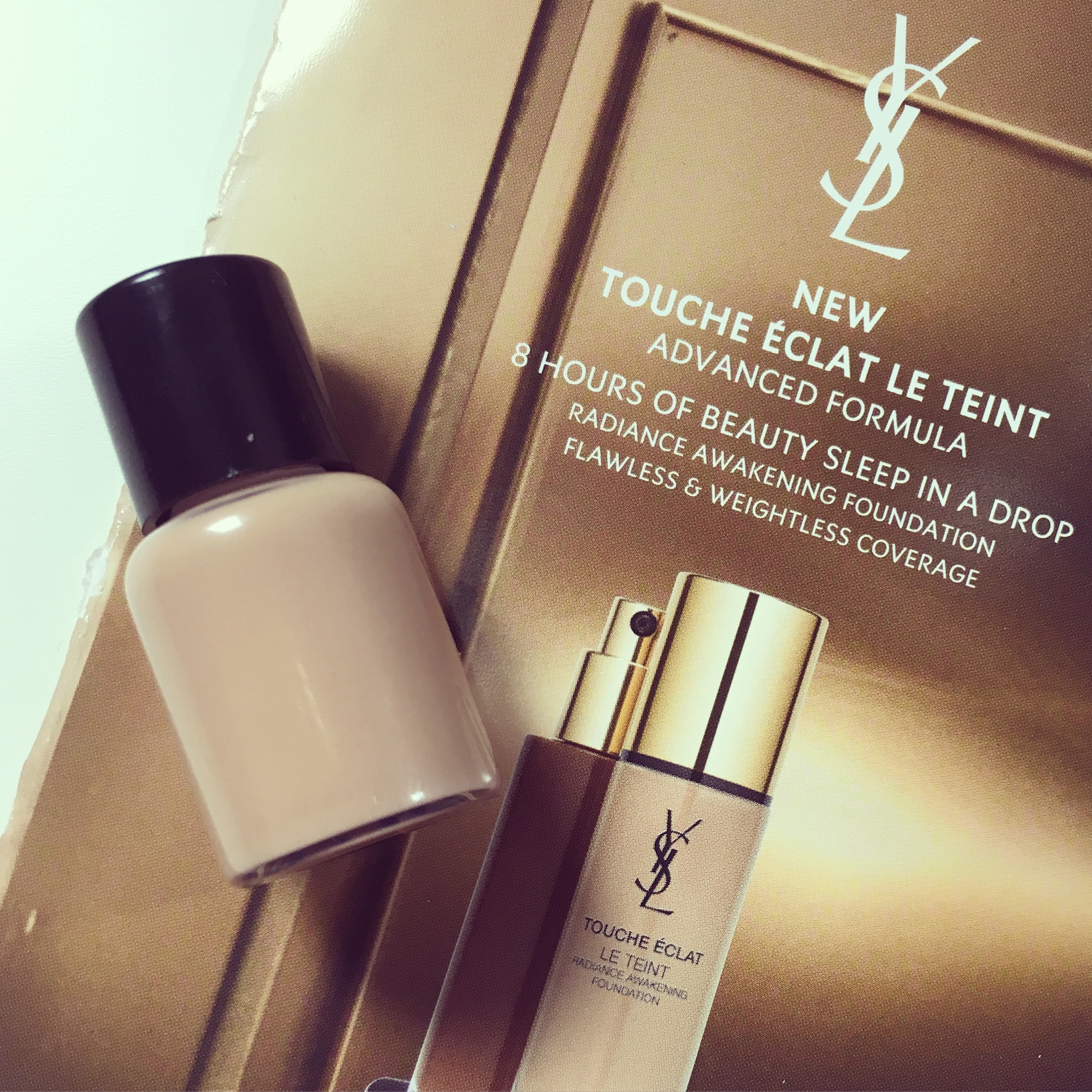 Review Ysl Touche Eclat Foundation Reformulation Edition Lipstick Latitude