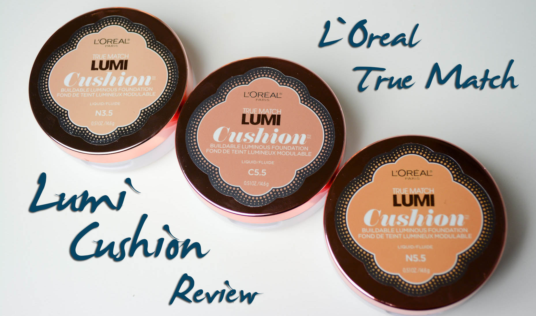 L'Oreal True Match Lumi Cushion Review   Lipstick Latitude