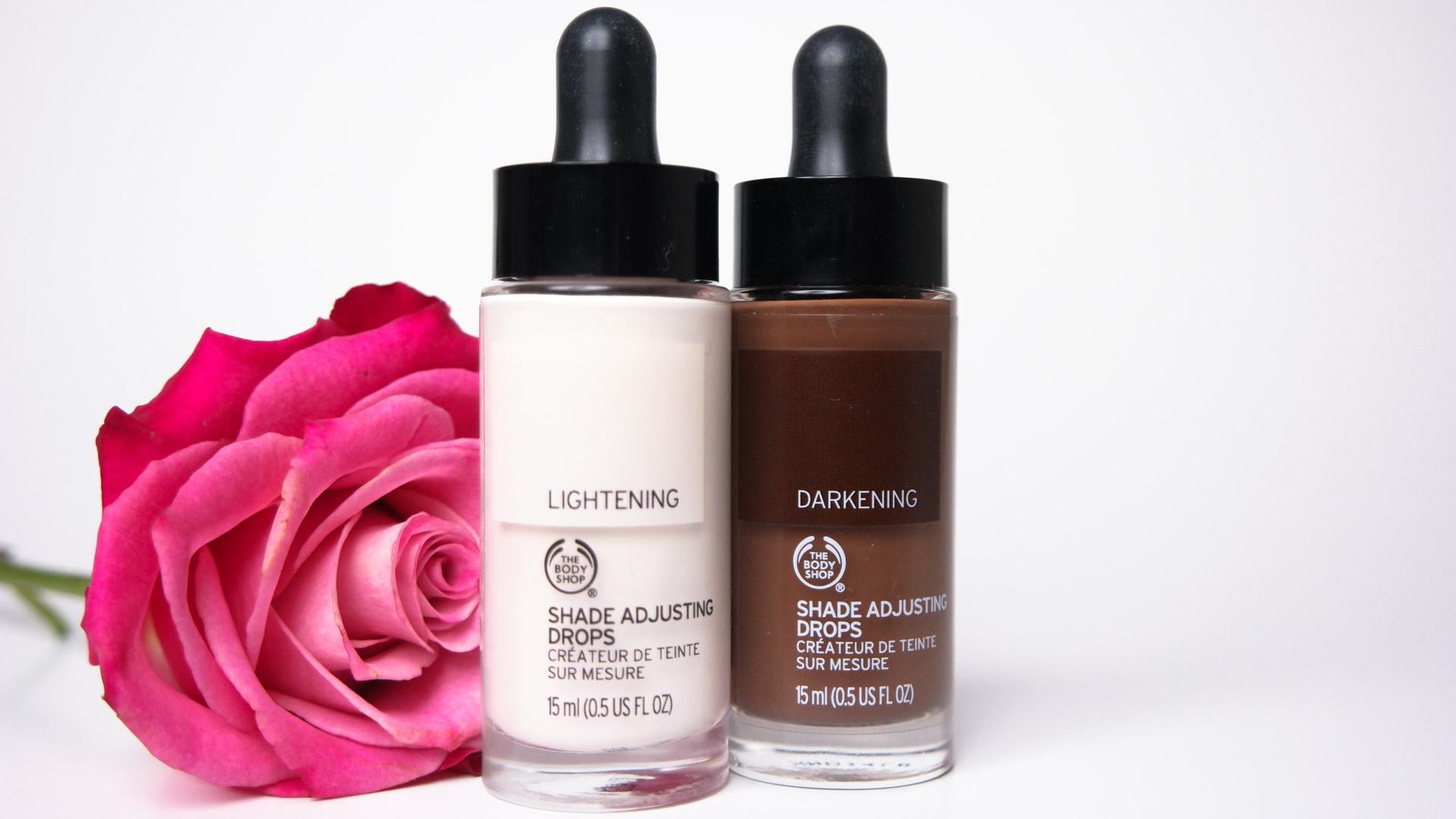 The Body Shop Shade Adjusting Drops Demo