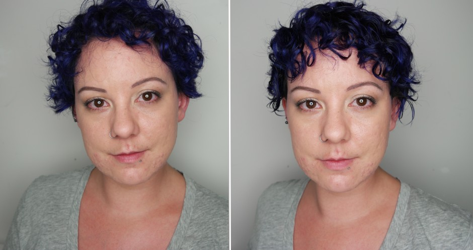 Joico K-PAK Luster Lock Before & After