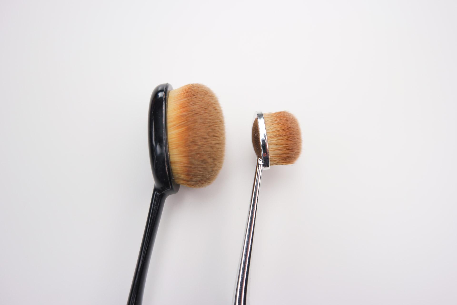 Brushes compared artis oval 3 vs ibeauty 21 lipstick for Brush craft vs artis