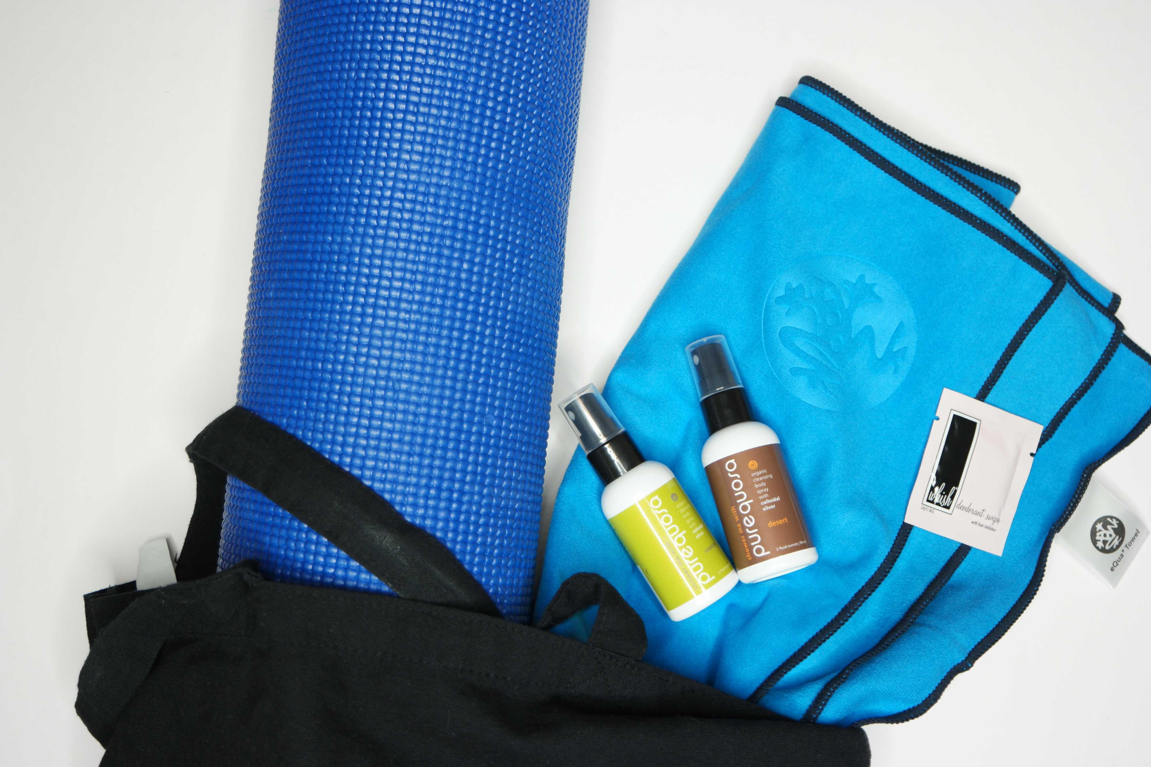 Yoga Bag Essentials I Love
