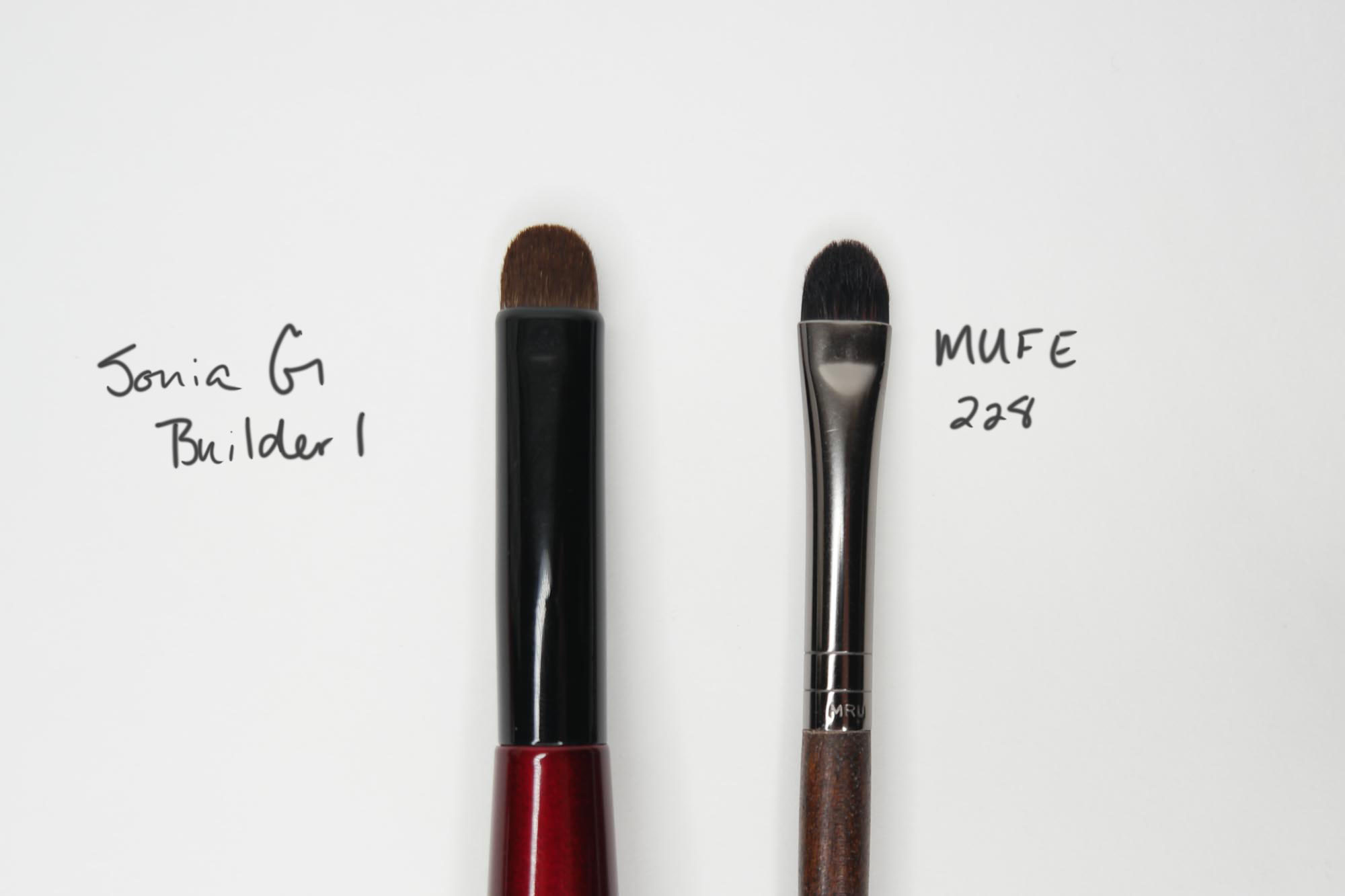 Sonia G Builder 1 vs MUFE 228