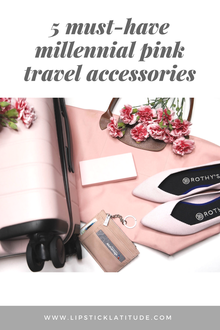Must Have Millennial Pink Travel Accessories