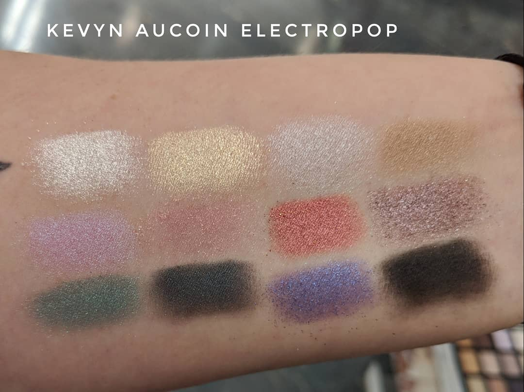 Kevyn Aucoin Electropop Swatches