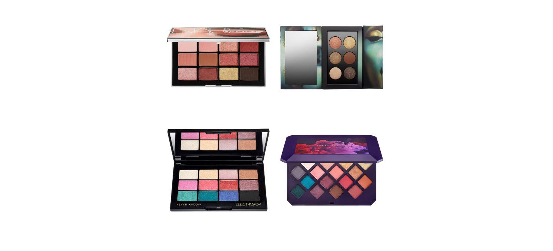 Eyeshadow Palette Swatch Round-Up: July 2018