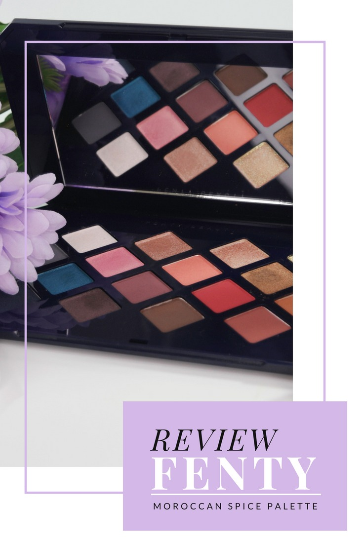 Fenty Moroccan Spice Eyeshadow Palette Review