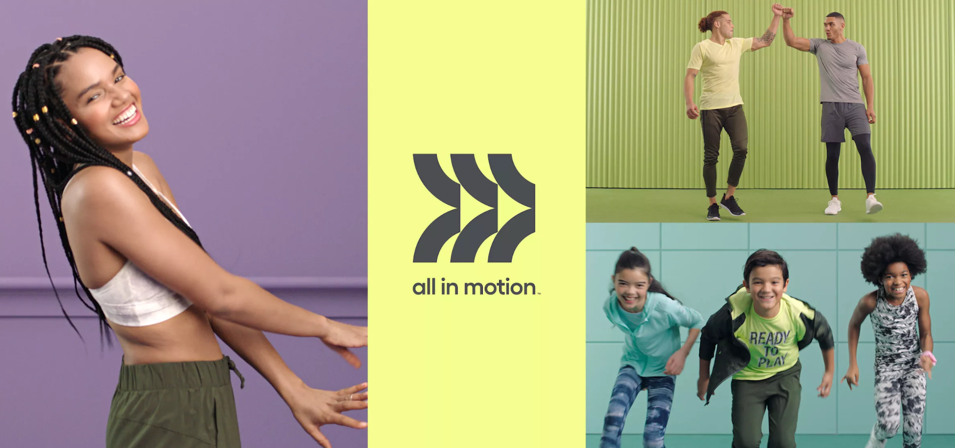 First Look: Target All In Motion Activewear